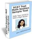 SCAT Sample Test Index