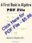 1st Algebra Book – Prepare IAAT